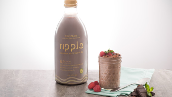 Chocolate and Raspberry Chia Pudding Sm