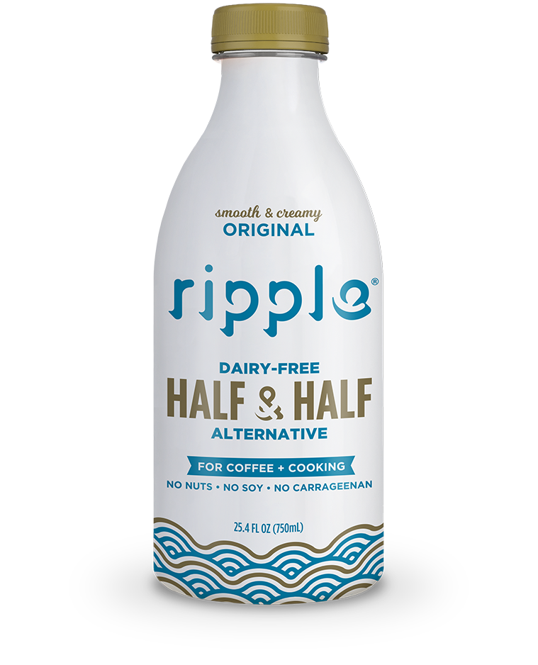 Original Plant Based Half Half Ripple Foods